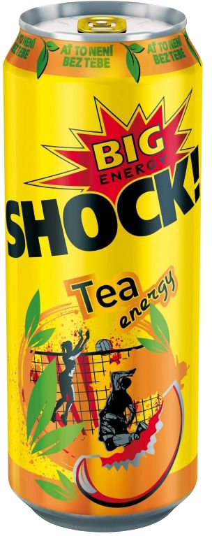 BIG ENERGY SHOCK! Orange juicy